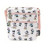 Disney Loungefly Passport Bag - Mickey & Minnie - Pastels