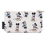 Disney Loungefly Pouch - Mickey & Minnie - Pastels