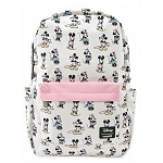 Disney Loungefly Bag - Mickey & Minnie - Pastels - Backpack