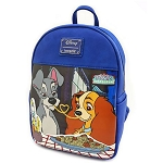 Disney Loungefly Bag - Lady and the Tramp Belle Notte - Mini Backpack