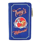 Disney Loungefly Wallet - Lady and the Tramp Belle Notte Tony's Menu