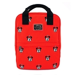 Disney Loungefly Bag - Positively Minnie - Square Canvas Backpack