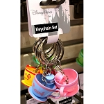 Disney Keychain Keyring Set - Teacups