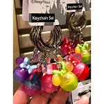 Disney Keychain Keyring Set - Minnie Icons