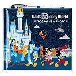 Disney Autograph & Photo Album w/ Pen - Mickey & Friends - Walt Disney World