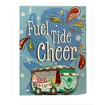 Disney Greeting Card Pin - Fuel Tide Cheer - Cars - Fillmore