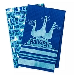 Disney Kitchen Towel Set - Finding Nemo Seagulls - Mine Mine Mine - Hangry