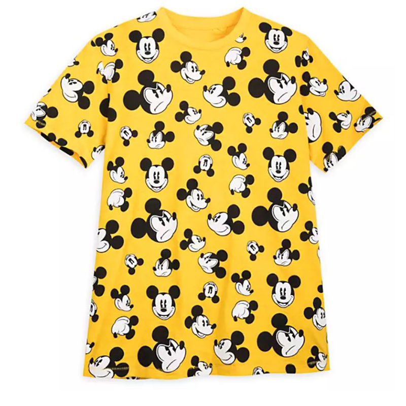 Disney Men's Shirt - Mickey Mouse Faces