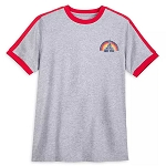 Disney Men's Shirt - Walt Disney World Retro Ringer T-Shirt