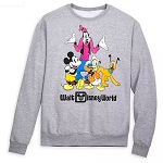 Disney Adult Sweatshirt - Mickey & Friends - Walt Disney World