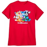 Disney Adult Shirt - Mickey Mouse - Multicolor