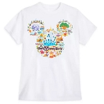 Disney Adult Shirt - Walt Disney World Map