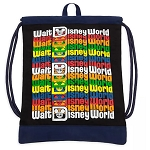 Disney Cinch Sack - Walt Disney World Logo
