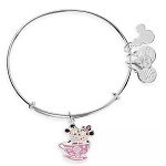 Disney Alex & Ani Bracelet - Mickey & Minnie Mouse Mad Tea Party