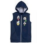 Disney Boys Hoodie Vest - Mickey Mouse and Friends
