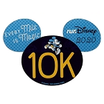 Disney Car Magnet - 10K Mickey Mouse - RunDisney 2020