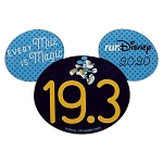 Disney Car Magnet - 19.3 Mickey Mouse - RunDisney 2020