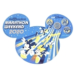 Disney Car Magnet - Walt Disney World Marathon Weekend 2020