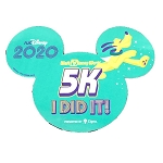 Disney Car Magnet - 5K - I DID IT! - runDisney 2020 - Pluto