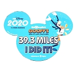 Disney Car Magnet - 39.3 Miles - I DID IT! - Goofy's Race & A Half Challenge 2020