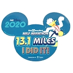 Disney Car Magnet - 13.1 Miles - I DID IT! - Walt Disney World Half Marathon 2020 - Donald Duck