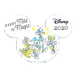 Disney Car Magnet - Every Mile Is Magic - runDisney 2020 - Fab 5