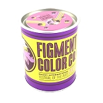 Disney Puzzle w/ Map & Stickers - Figment's Brush with the Masters - Figment Color Co. - Pink
