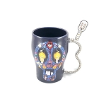 Disney Coffee Cup Mug - Coco Sugar Skull w/ Guitar Handle