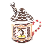 Disney Mug w/ Lid & Spoon - Saratoga Springs Resort Gingerbread House