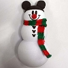 Disney Antenna Topper - Christmas Holiday Snowman