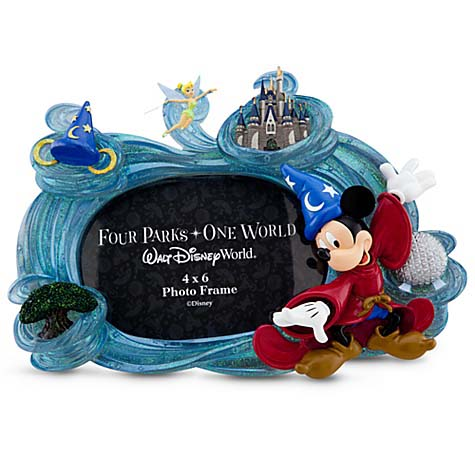 Disney Picture Frame - Four Parks One World - 4 x 6