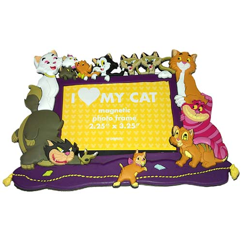 Your WDW Store - Disney Photo Frame Magnet - Magnetic Disney Cats