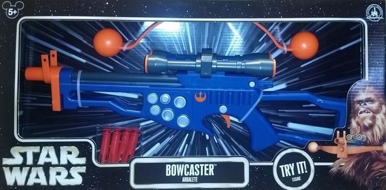 Disney Star Wars Weekends Rebel Alliance Laser Blaster Bowcaster