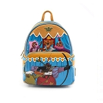 Disney Loungefly Bag - Robin Hood Archery Tournament - Mini Backpack