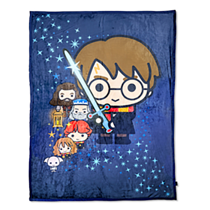Universal Character Throw Blanket - Harry Potter