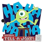 Disney Pin - Celebrate Today - 08 National Tell a Joke Day 2020 - Mike Wazowski