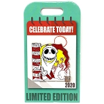 Disney Pin - Celebrate Today - 12 Santa Jack Skellington