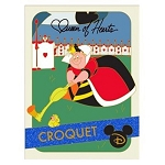 Disney Pin - Trading Cards - 02 Croquet Queen of Hearts