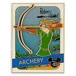 Disney Pin - Trading Cards - 03 Robin Hood