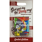 Disney Pin - Cereal Boxes Series #2 - Professor Von Drake - Letters and Numbers