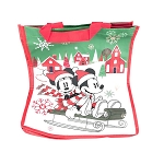 Disney Reusable Tote - Mickey & Minnie Holiday Sleigh Ride