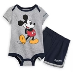 Disney Bodysuit & Shorts Set for Baby - Mickey Mouse Walt Disney World