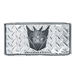 Universal License Plate - Decepticon Shield