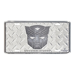 Universal License Plate - Autobot Shield