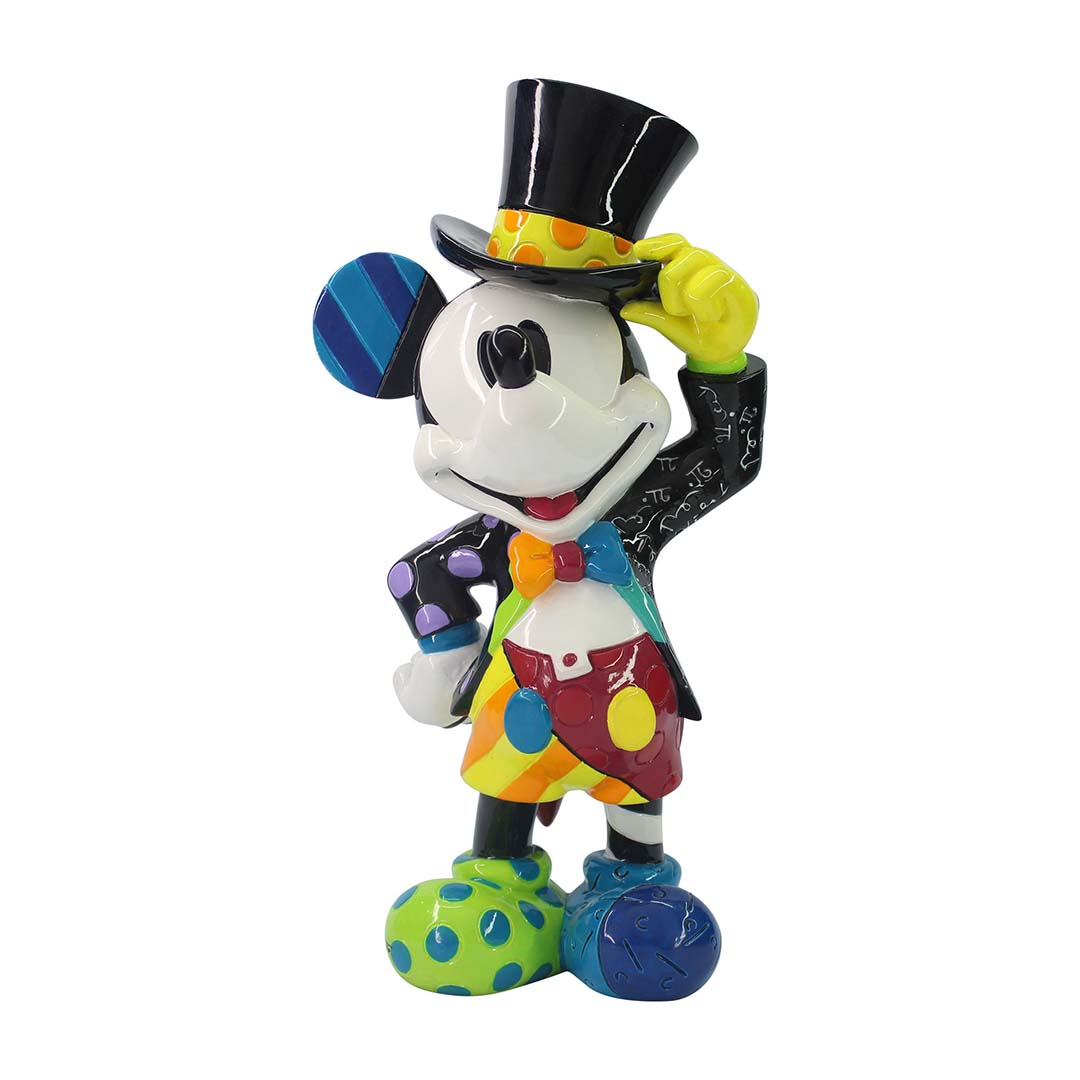 Disney by Britto Figure - Mickey Mouse with Top Hat