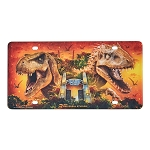 Universal License Plate - Jurassic World
