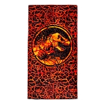 Universal Beach Towel - Jurassic World Logo