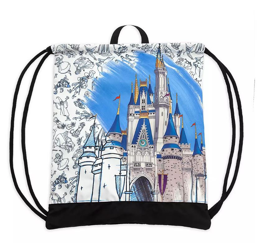 Disney Cinch Sack - Ink & Paint - Mickey Mouse