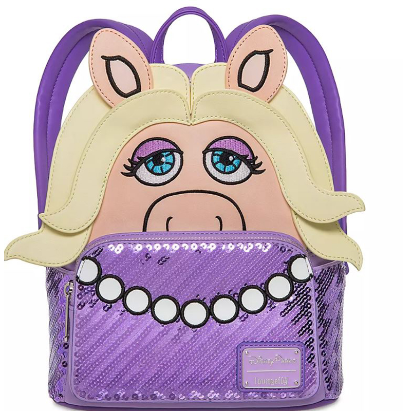 Disney Parks Loungefly Bag - Miss Piggy - Mini Backpack