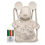 Disney Colorable Tote Marker & Plush Set - Ink & Paint - Mickey Mouse